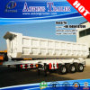 三Axles 50tons Havy Hydraulic Cylinder Tipper Semi Trailer Truck