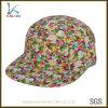 カスタムブランク5のパネルの帽子の卸売の帽子の帽子の習慣のロゴ