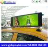 Pantalla Dobule 960*320 lateral milímetro de la tapa HD Advertisng del taxi de Rusia LED