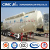 Cimc Huajun 55cbm 3axle Hydrated Lime Powder Tanker