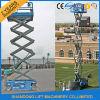 levages électriques mobiles de peinture d'échafaudage de table élévatrice de ciseaux de 8m