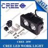 lámpara campo a través 12V auto del trabajo de la luz 4WD del trabajo de 4inch LED