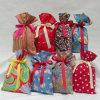 Sac de cadeau de tissu de qualité avec recyclable