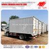 Dimensión de una variable del rectángulo carro de 5 toneladas para el transporte de cargo a granel