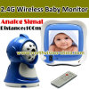 2.4G Wireless Babay Monitor, Analog Signal, 3.5inch LCD, Bidirectionele Talk, Distance 100m, met Afstandsbediening (nc-830)