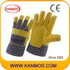Искусственная кожа полоса Вернуться Pasted CuF Винил Рабочие перчатки (41014)