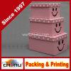 Rectángulo de regalo de empaquetado de papel fijado (3120)