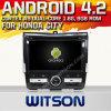 Witson Android 4.2 Car DVD pour la ville 2008-2011 de Honda avec A9 l'Internet DVR Support du WiFi 3G de ROM du jeu de puces 1080P 8g