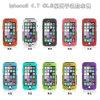 Transparante Waterproof Case voor iPhone 6 4.7 Inch