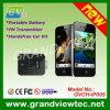 Batterie portative et émetteur de FM et kit mains libres de voiture pour l'iPhone 4 (GVCH-iP005)