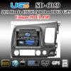 ピップ3D Ui SD-6059を持つユーゴHonda Civicの右車DVD GPSプレーヤー
