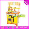 Il nuovo disegno finge la stufa di legno W10c314 del gioco dei capretti dei giocattoli della cucina