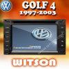 Golf 4 de Speler DVD van de Navigatie W2-D9230V van Witson