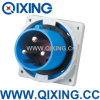 Spina industriale blu di IP67 63A 3p (QX826)