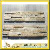 Luz - pedra amarela da cultura do quartzito/de pedra empilhado/empilhamento da pedra