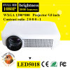 2015 nouvel affichage à cristaux liquides 3000 Lumens Full HD Support 1080P DEL Smart Projector