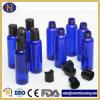 Wohler Satz-füllt Plastikhaustier-Flüssigkeit blaue Flasche 30ml-250ml für das Kosmetik-Verpacken ab