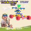 Bloc constitutif de jouets créateurs pour des enfants dans la forme de camion