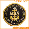 Moedas militares do metal da alta qualidade com borda do redemoinho (YB-c-016)