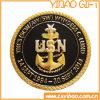 Qualität Military Metal Coins mit Swirl Edge (YB-c-016)