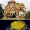 Pigmento de oro de la perla de la arquitectura del cuerpo de los elefantes