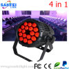 Heißes Sale Outdoor Fullcolor 18 PCS LED PAR 3in1/4in1 Light