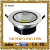 CE&RoHSの9W COB LED Downlight