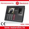 Realandの指紋およびカードの時間出席システム