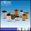 Auto filtro de petróleo da peça sobresselente para BMW E90 318 Hu815/2X (OEM no. 11427508969 11427501676)