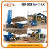 Bloco de cimento hidráulico automático do equipamento de construção que faz a máquina