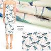 Грациозно напечатанная ткань одежды Dobby Twill, домашняя ткань тканья
