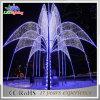 Indicatore luminoso gigante della decorazione della fontana di natale di paesaggio di festa esterna LED del metallo