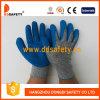 Анти- перчатки безопасности высокой эффективности отрезока, латекс покрытый на ладони (DCR310)