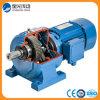 Motor engranado helicoidal montado pie para el mezclador