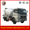 Dongfeng 9m3のコンクリートミキサー車のトラック