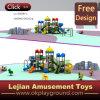 Jeux extérieurs en plastique de glissière d'enfants colorés de modèle (X1502-12)