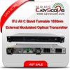 Itu profesional del alto rendimiento del surtidor todo el transmisor óptico modulado External del laser de Turnable CATV 1550nm de la venda de C