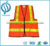 Chaleco de la seguridad de la visibilidad de la ISO 20471 del En alto