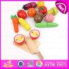Вырезывание популярной игрушки деревянное для младенца, игрушки горячего вырезывания сбывания Vegetable установленной, претендует кухню игры деревянную установленную для детей, W10b139