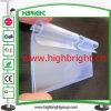 Прозрачный дешевый ценник PVC для крюков