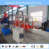 Pavimentadora que se enclavija del bloque de cemento Qt4-20 que hace la máquina