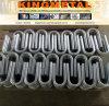Curvatura temprata luminosa dell'accessorio per tubi di A207 Ss304/316L per alimento