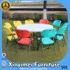 옥외 가구 야영 이용된 플라스틱 폴딩에 의하여 착색되는 의자