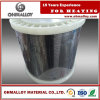 Bande fiable Nicr6015 de nichrome de qualité pour les éléments de chauffe électriques