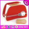 Il Simulation Red Wooden Bread Machine Toy Set con En71 per Children Play W10d109