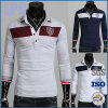 Camicia di polo d'avanguardia del piquè della maglia di vendita del cotone caldo di modo