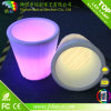 Home Decorative Resin Éclairage LED Jardin Pot de fleurs