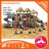 Sale를 위한 아이 Plastic Tube Slide Wood Play Ground