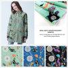 Tela impresa Digitaces de la ropa de la manera, tela de materia textil casera