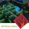 Танцевальная площадка выставки 3D СИД движения освещения DJ
